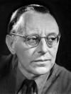 Portrait of the composer Carl Orff