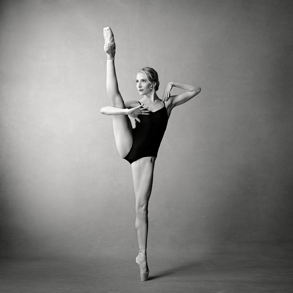 Dancer Catherine Toupin