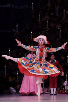 Vera Kvarcakova in The Nutcracker