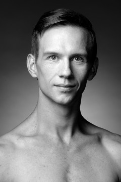 Headshot of the dancer Dane Holland
