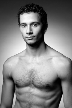 Headshot of the dancer Giuseppe Canale