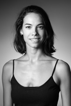 Headshot of the dancer Julia Bergua