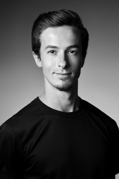 Headshot of the dancer Nicholas Jones