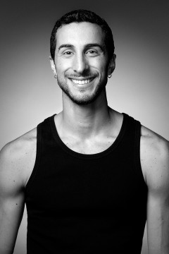 Headshot of the dancer Stefano Russiello
