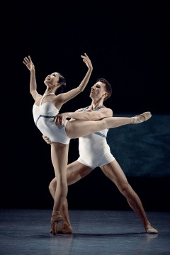 The dancers Mai Kono and Marcin Kaczorowski in 7th symphony