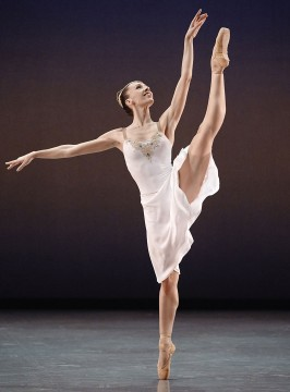 Dancer Rachele Buriassi in the Talisman