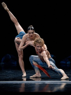 The dancers Célestin Boutin and Anya Nesvitaylo in The Firebird