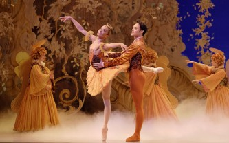 Chen Sheng and Vanesa Garcia-Ribala Montoya in The Nutcracker