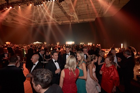Guests at Les Grands Ballets' gala