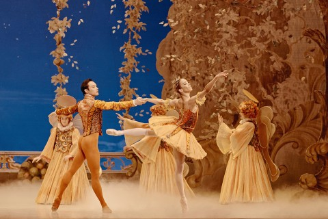 The dancers Chen Sheng and Vanesa G.R. Montoya in The Nutcracker