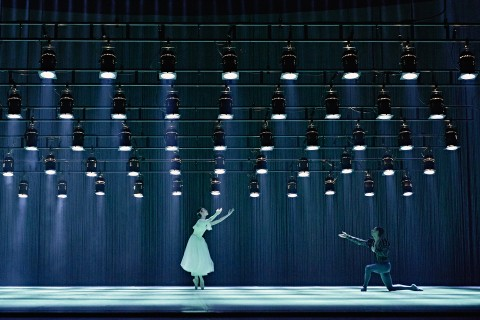 Giselle and Albrecht in Giselle