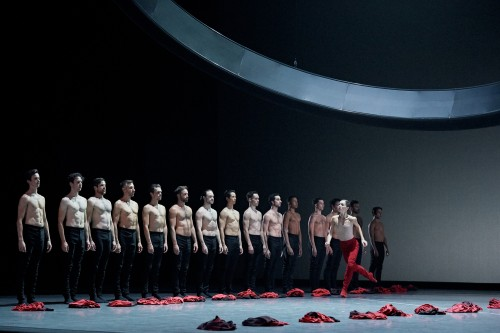 Les Grands Ballets' dancers in Carmina Burana