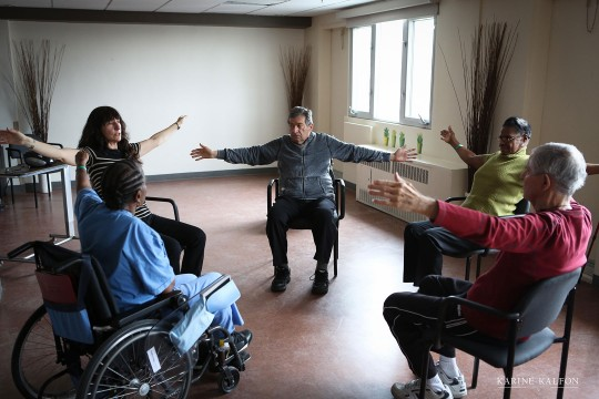 National Centre for Dance Therapy - class with therapist