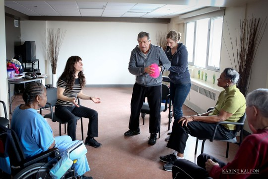 National Centre for Dance Therapy - therapists with patient