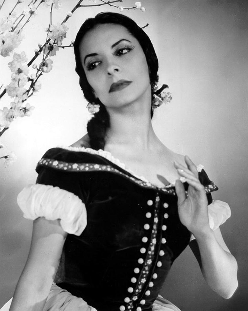 Choreographer Alicia Alonso
