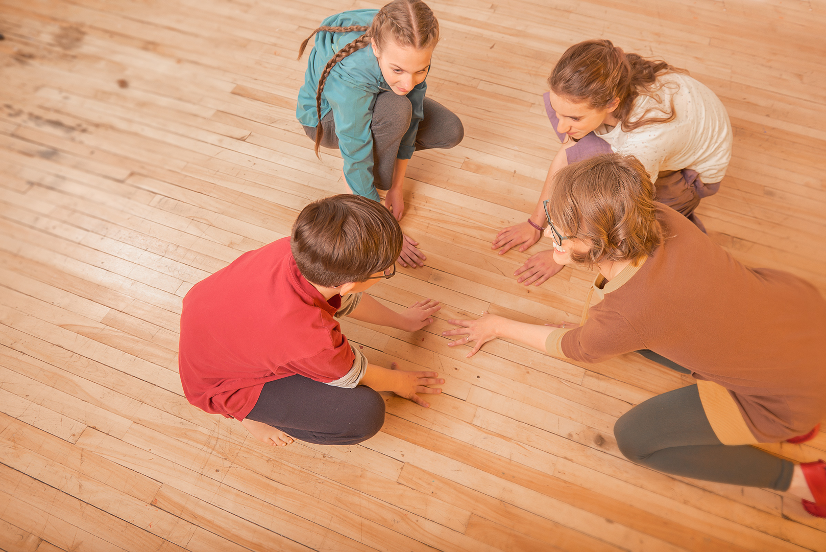 National Centre for Dance Therapy - kids and teachers during class
