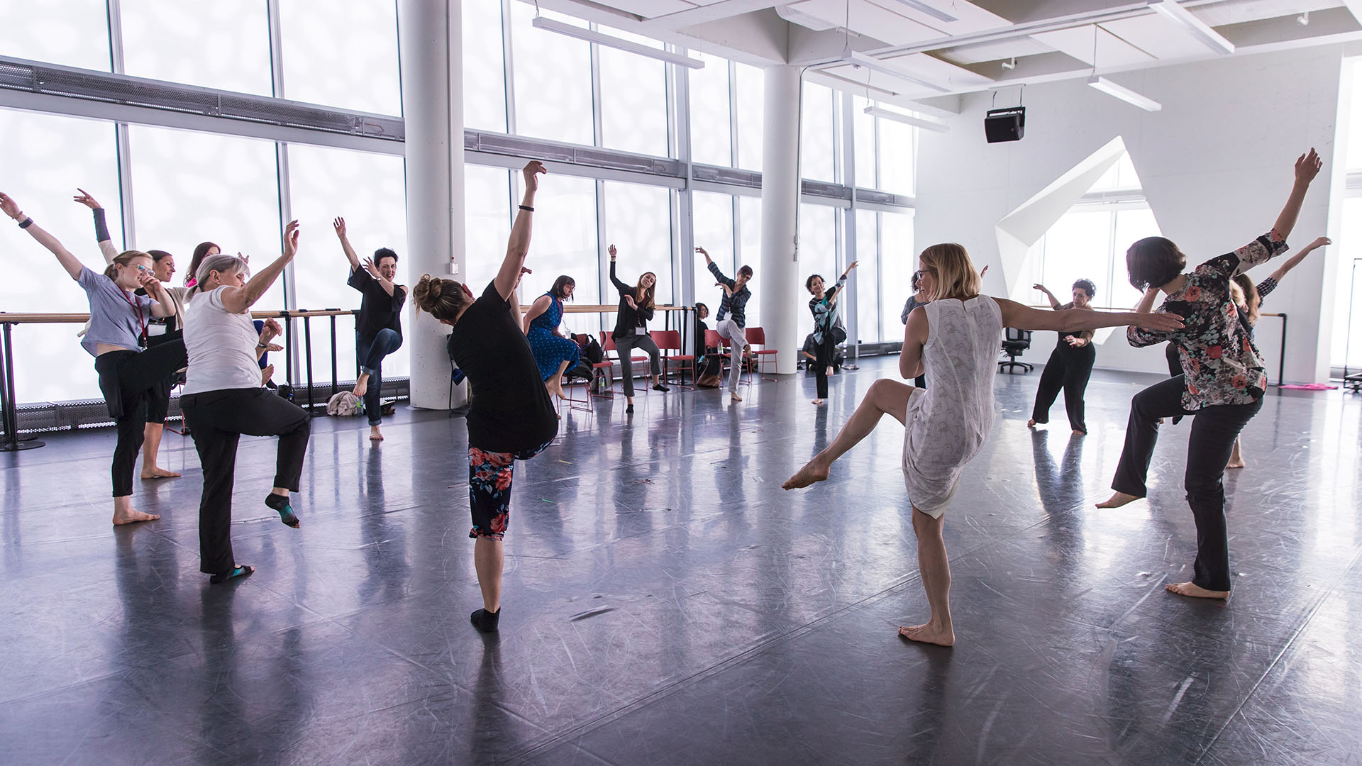 National Centre for Dance Therapy - a class